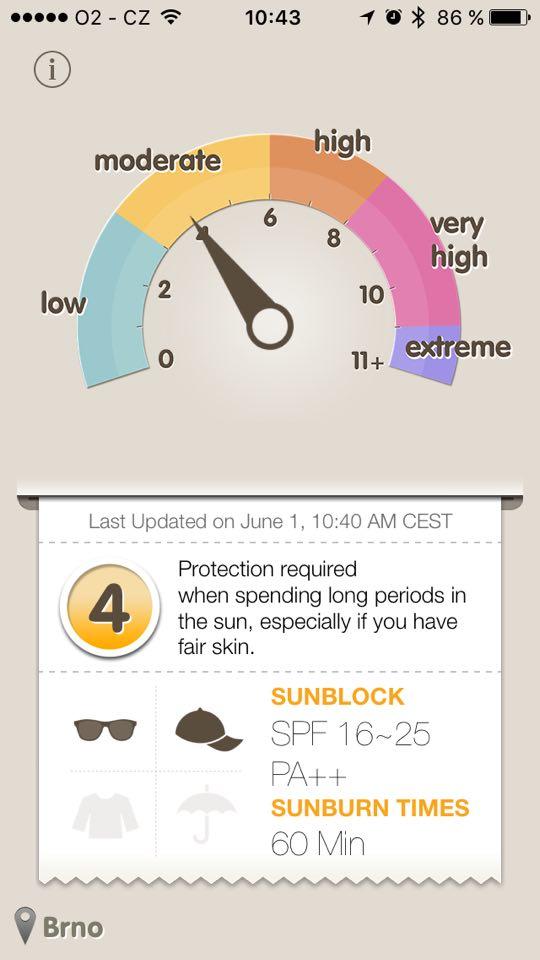 UV záření aplikace