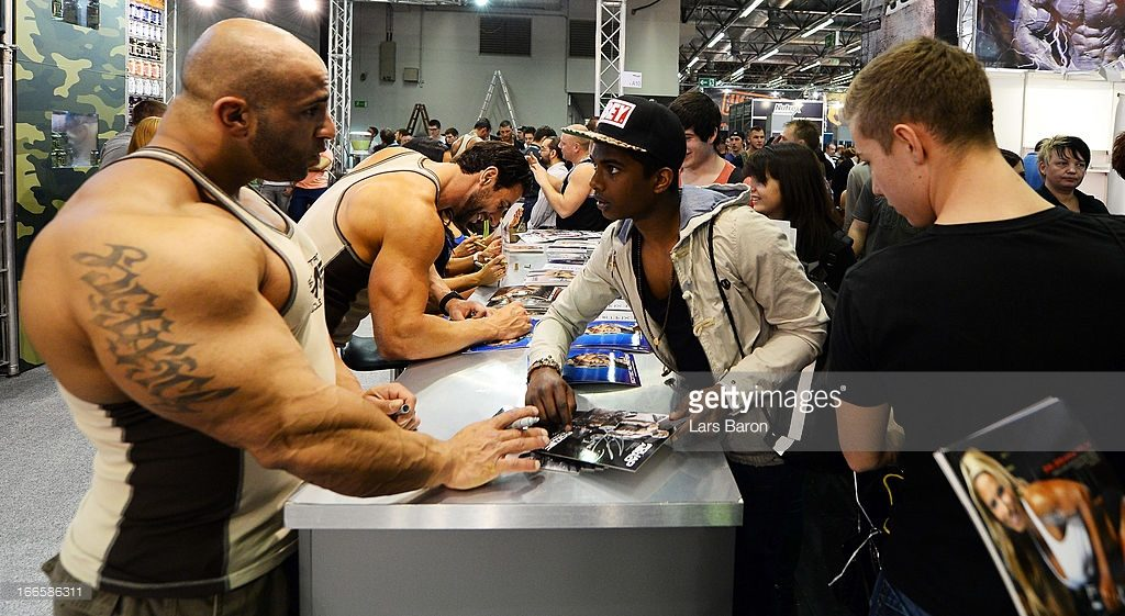 during the FIBO 2013 on April 14, 2013 in Cologne, Germany.
