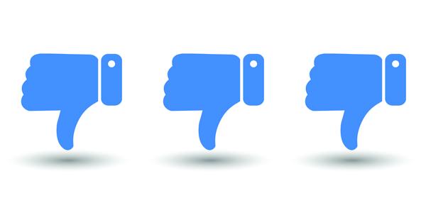 klesajici Facebook dosah